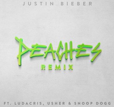 New Music: Justin Bieber 'Peaches (Remix)' ft. Ludacris, Usher & Snoop Dogg