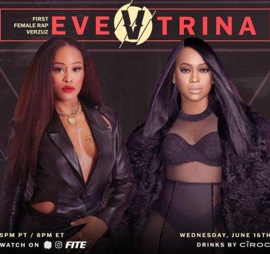 Watch: Verzuz Unveils Fresh Eve vs. Trina Teasers Ahead of Tonight's Celebration/Showdown