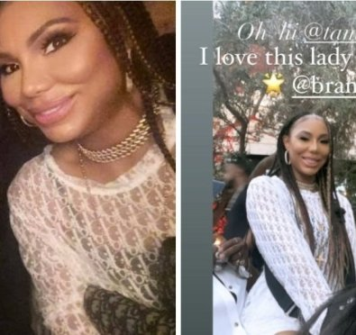 Love To See It: Brandy & Tamar Braxton Get Their Life Together at Juneteenth Ball In Los Angeles [Photos/Video]