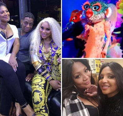 Trina Braxton Slips & Teases One of Her Sisters Is The Pufferfish Following 'The Masked Singer' Season 6 Premiere Performance [Video]