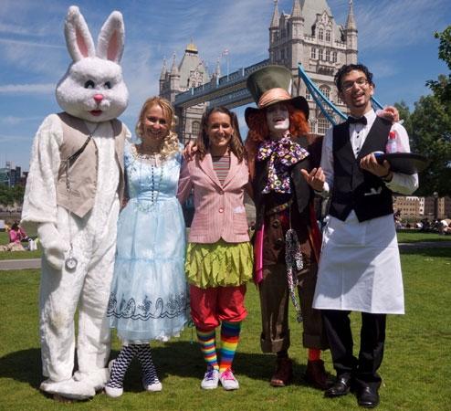 Alice in Wonderland Kids Party Theme