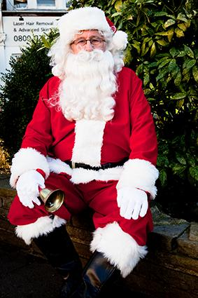 Santa Claus for events in London