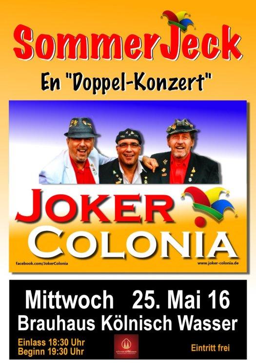 SommerJeck Konzert