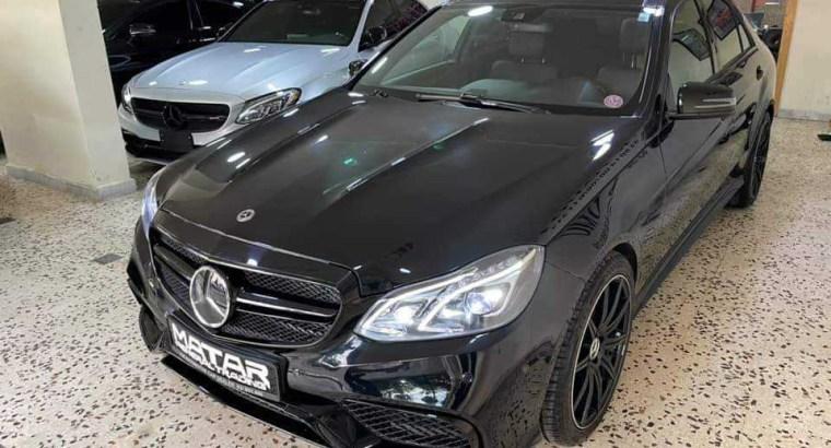 Mercedes E 550 V8 2013