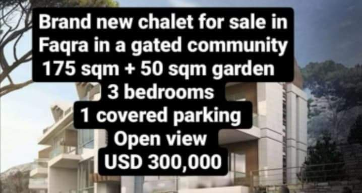 Chalet for sale in Fakra