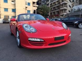 Porsche Boxter 2011