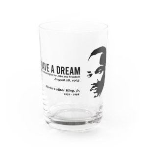 MARTIN LUTHER KING  グラス