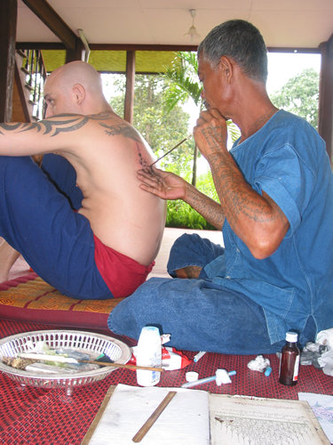 of tattooing is deeply symbolic and contains many of the elements