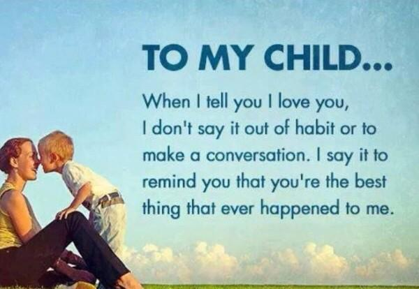 parents love child quotes