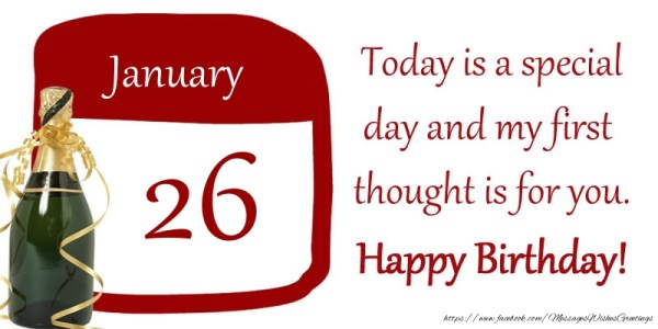 26 January Thought