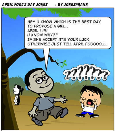 april fool day jokes