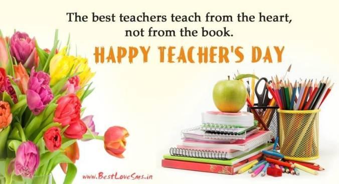 teachers day card