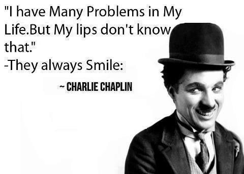Always Smile Quote by Charlie Chaplin