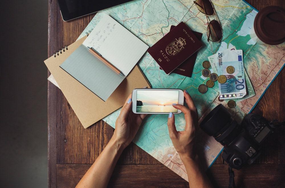 gadgets de viagem