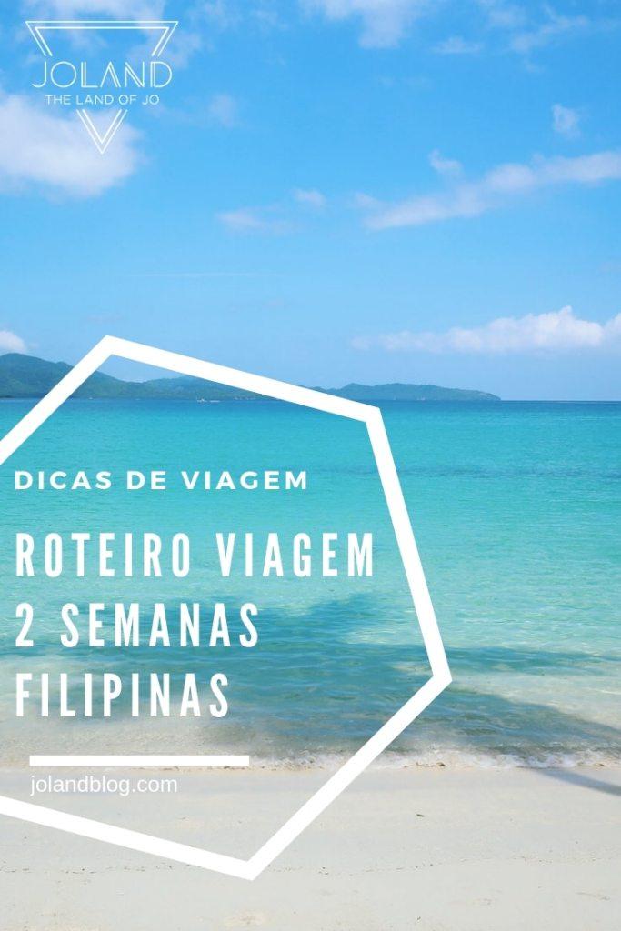 roteiro de viagem 2 semanas pelas Filipinas