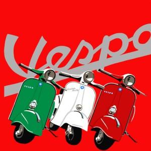 Vespa's en Fiat's