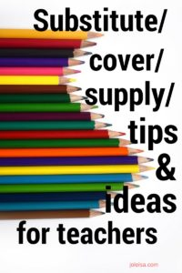 Here are some tips and ideas that will help you in your work as a supply teacher. With over 25 years teaching experience I have the authority to say that these will definitely help you.