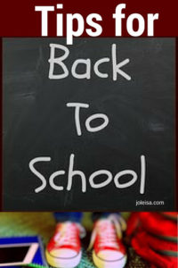 Avoid the stress of the back to school blues by following all of these tips. Life will be so much easier!
