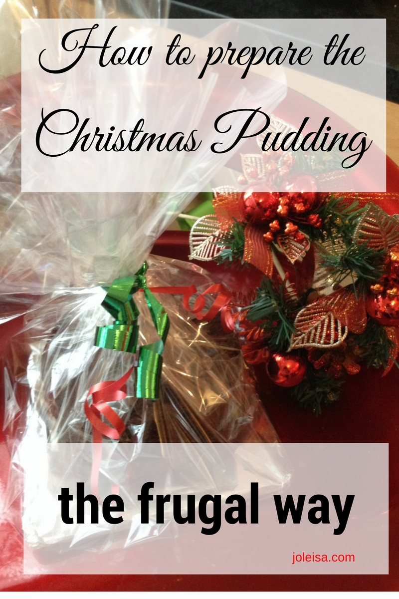 Preparing Christmas Pudding the Frugal Way - joleisa