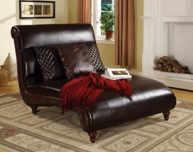 Leather Couch Chaise Lounge