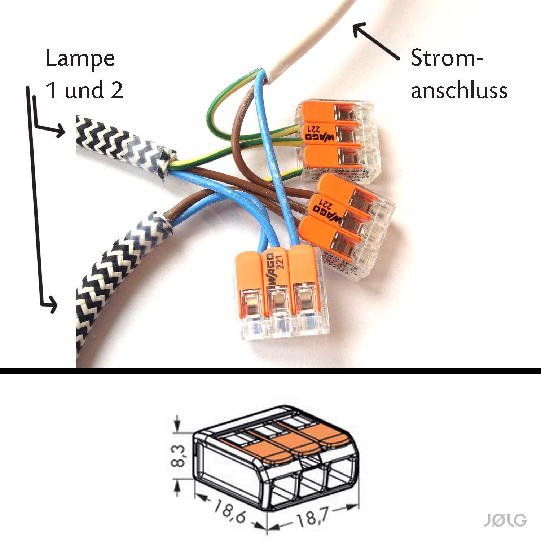 Lampe Anschliessen 5 Kabel Caseconrad Com