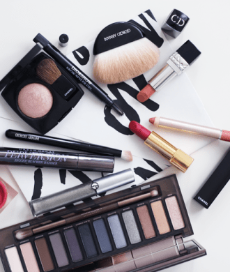 favoriete makeup oktober 2015 met Urban Decay, Givenchy, Giorgio Armani, Chanel, Dior, Jane Iredale