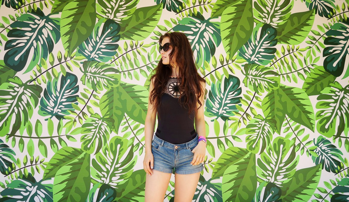 Leafy wall at BH Mallorca