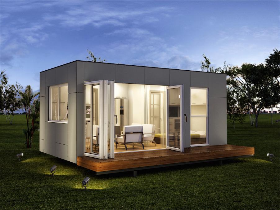 Vivre dans un conteneur les maisons bois - Maison conteneur ...