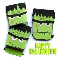 DIY Frankenstein Einladungen für Halloween + Vorlage