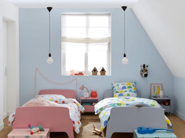 decorer une chambre d enfant mansardee