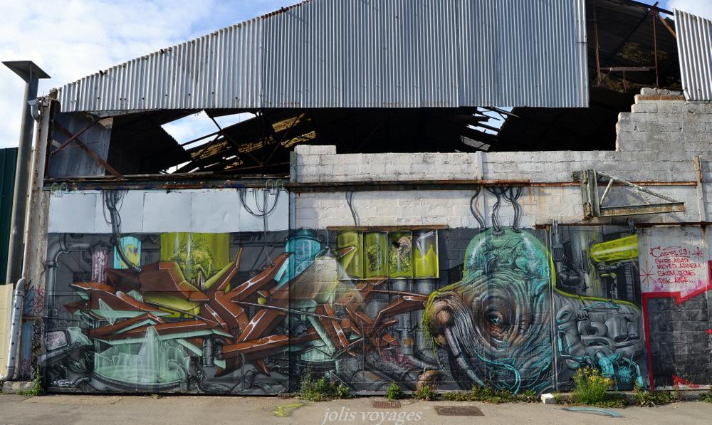 street art port de peche Lorient #Lorient #StreetArt #Morbihan #StreetArtLorient #Bretagne
