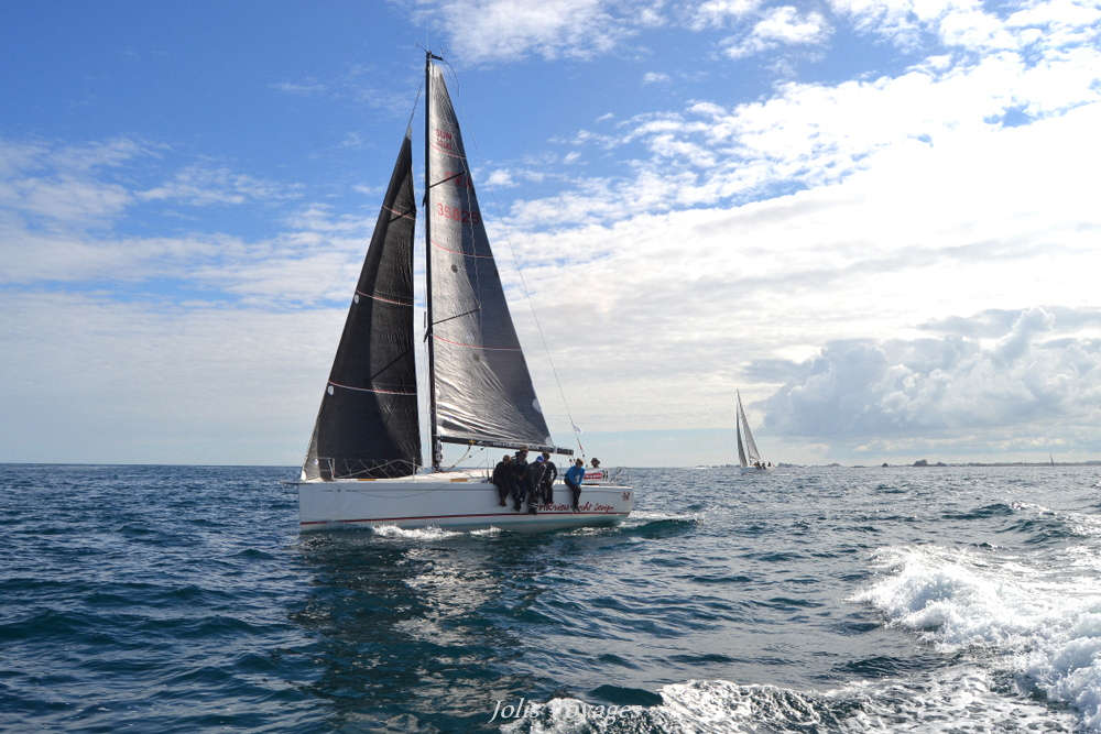 Depart Tour Finistere voile