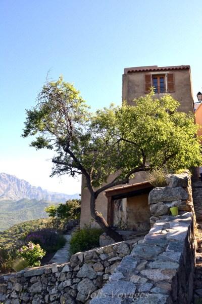 10 idees pour decouvrir la Haute Corse : Circuit des villages perchés de Balagne San Antonino #Corse #Plage #France #Voyage