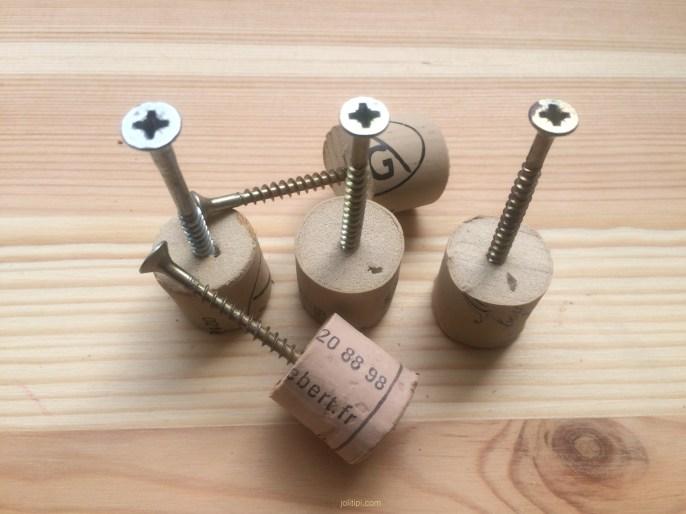 DIY patère en bois JoliTipi - étape 3