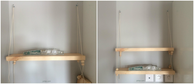 etagere suspendue. Black Bedroom Furniture Sets. Home Design Ideas
