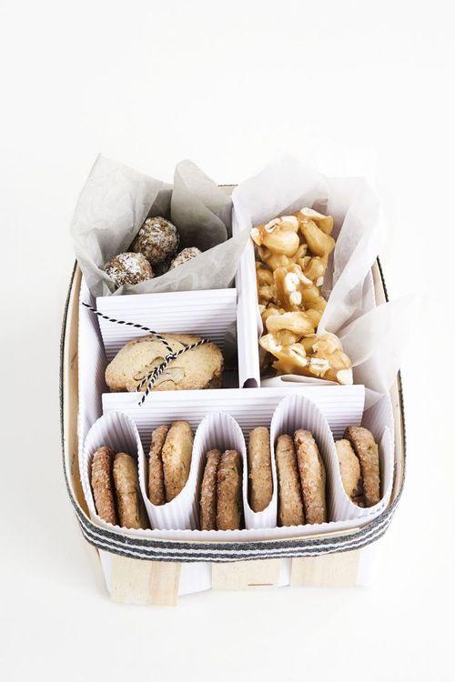 Emballage récup pour biscuits et gourmandises à offrir