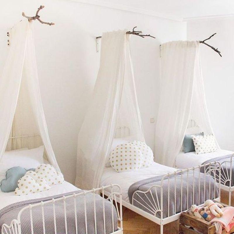 chambre dortoir d'enfants