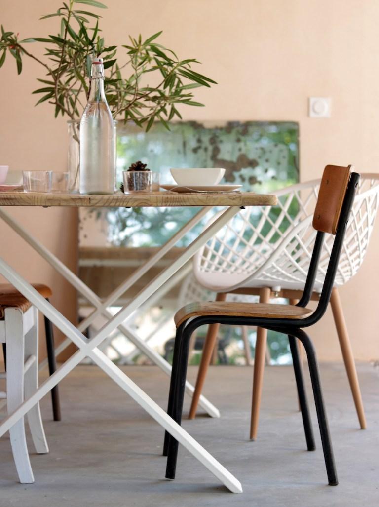 DIY créer une table extérieure