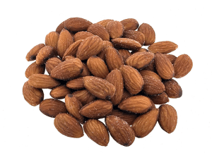 Almonds roasted salted