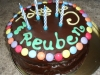 Toby and Reuben's Birthday Cake