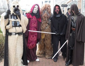 Star Wars Characters at Royal Quays Retail Outlet
