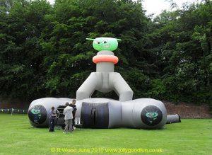 Laser Quest Inflatable Maze