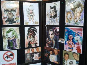 Adam's crazy caricatures, the work of Adam Hanson, Caricaturist
