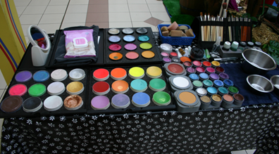 Hazel's Face Paint Kit
