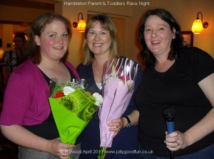 Hambleton Parent and Toddlers organisers of the race night