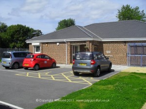 Eldon Community Centre, Car Park