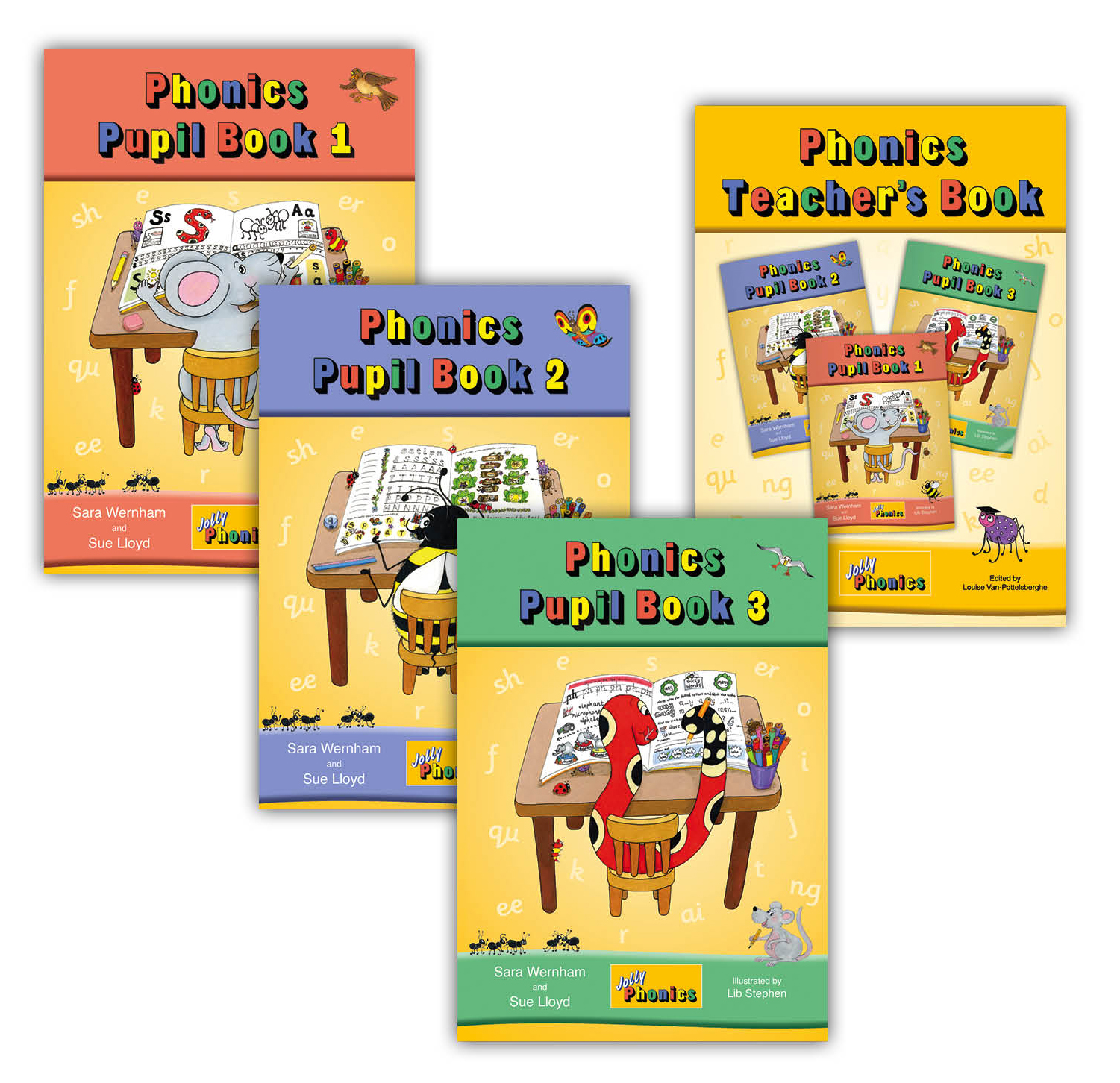 Jolly Phonics Pupil Book 1 Colour In Print Letters Jolly Learning