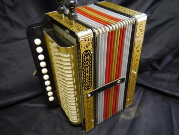 Hohner Cajun melodeon (sold)