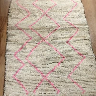 tapis azilal en laine