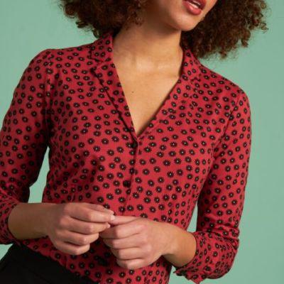 blouse en jersey